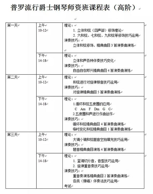 钢琴专业8级证书