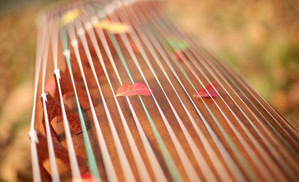 橡皮泥手工制作图片古筝