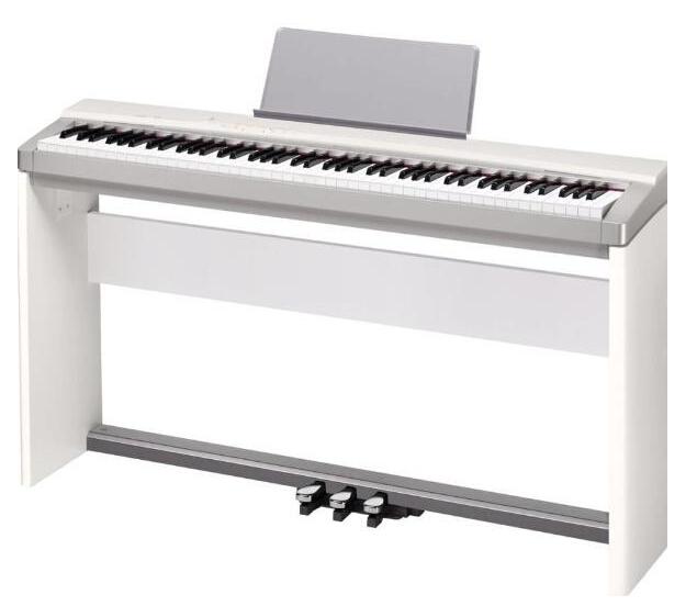 音色不是区分电子琴和电钢琴的标准;其次,不同的牌子声音也不完全一样图片