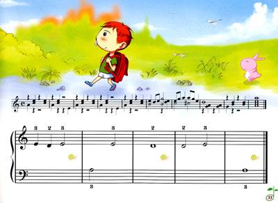 零基础钢琴入门自学教程图片