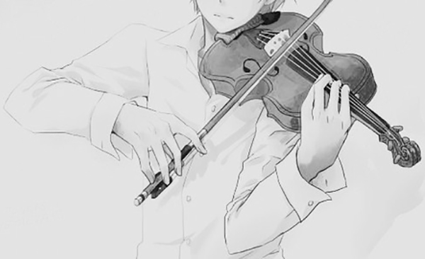 弹奏乐器图片大全手绘