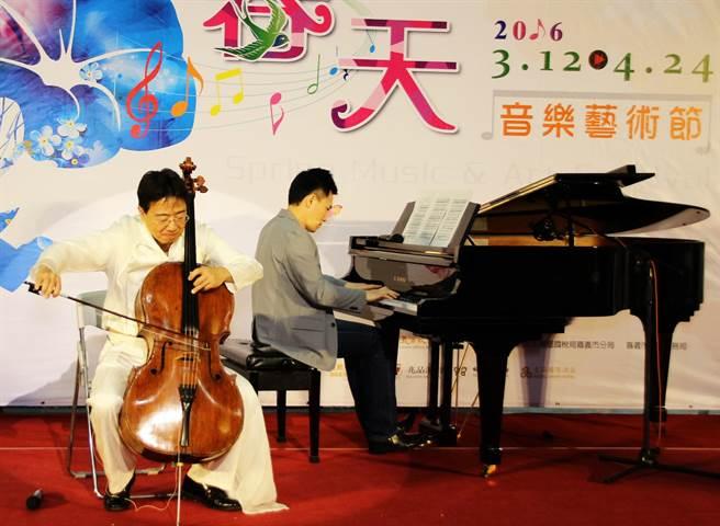 大提琴家张正杰,钢琴王子陈冠宇合奏《天鹅湖》