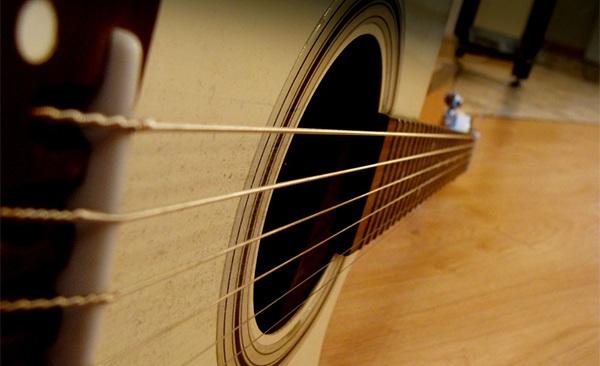 微信背吉他头像
