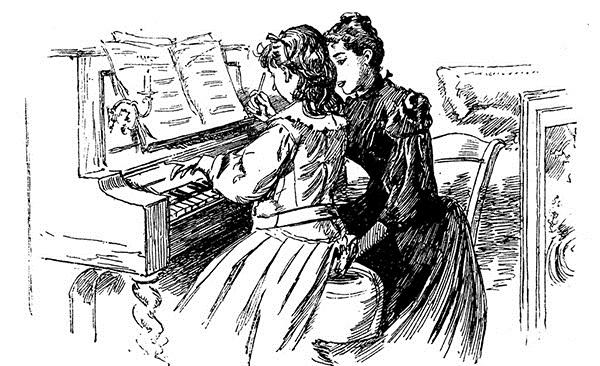 会弹钢琴的妈妈和不会弹有何区别?