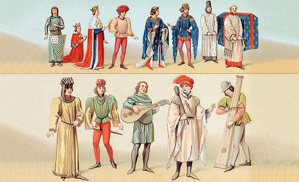带你了解中世纪欧洲音乐图片
