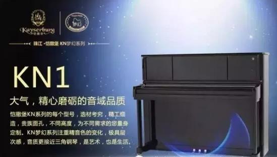 恺撒堡kn梦幻系列钢琴 著名钢琴设计大师主持研发