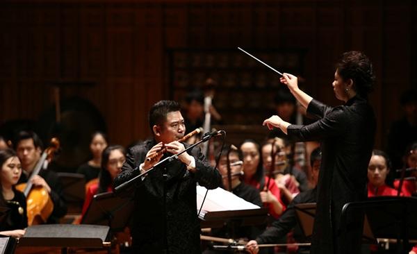 《兰花花》,民族管弦乐《佛跳墙》,《秦晋之好》,笛曲《小放牛》和